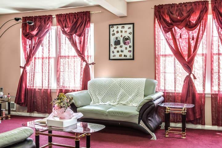 Private Room near EWR in Roselle NJ - Roselle - Huis