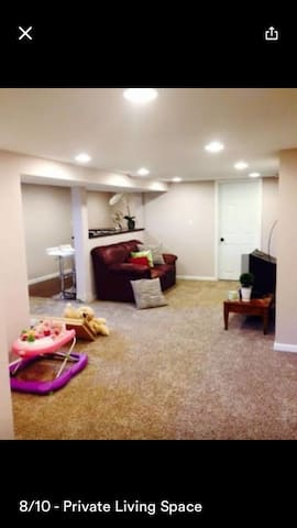 ENTIRE LOWER LEVEL w/ Private Entry - Fridley - Casa