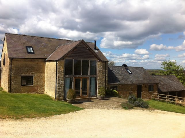 Secluded Cotswold barn conversion 2 - Barton-on-the-Heath - Hus