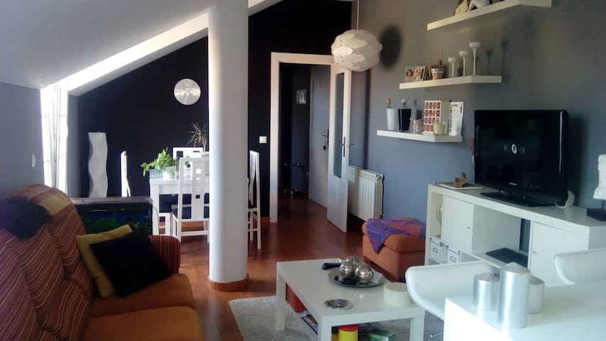 Atico de 1 habitacion, perfecto para parejas. - Castañeda - Lägenhet