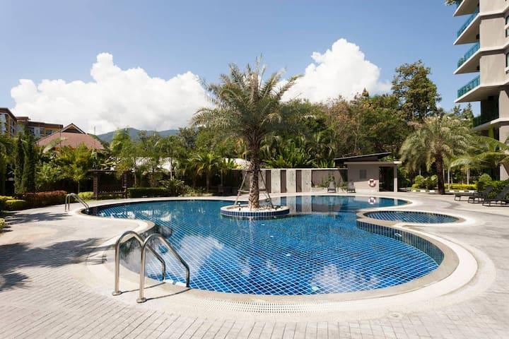 Bel Appartement dans un Bâtiment de style Resort - Chiang Mai - Appartement en résidence