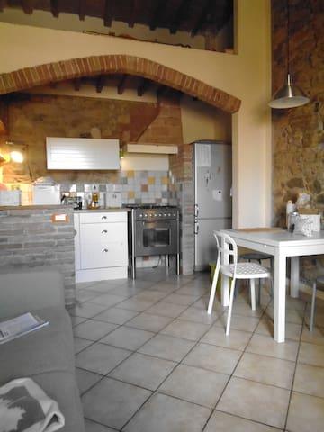 appartamento  nelle campagne  toscane - Le Case II - Appartement