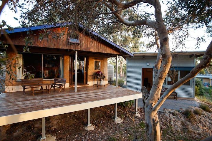 Bimbimbie Hideaway*Couples Retreat*Adelaide Hills - Coromandel East - Houten huisje