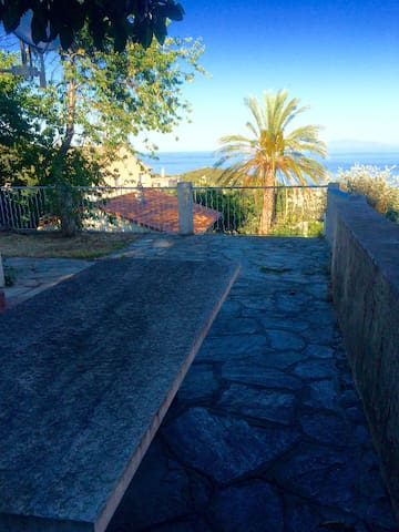 Un havre de paix vue mer au Cap Cor - Brando - Hus