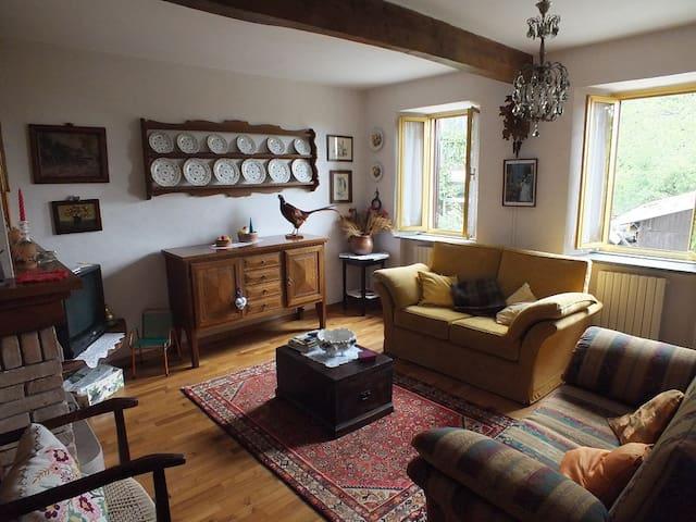 Beautiful apartment in Val d'Asta - Castiglione - Daire
