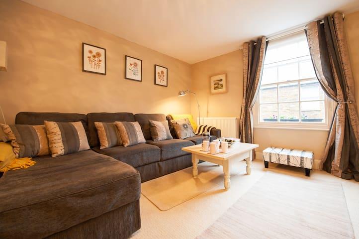 Elegant High Street apartment in Uppingham - Uppingham - Departamento