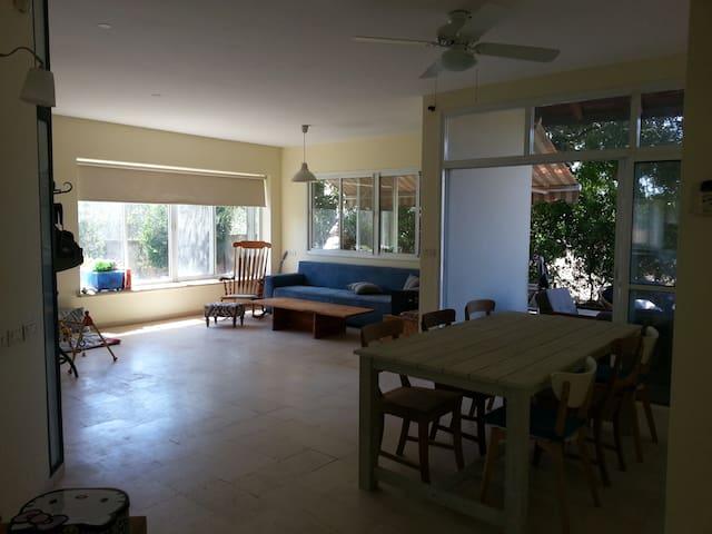 quiet spacious home in Ben shemen - Ben Shemen - Huis