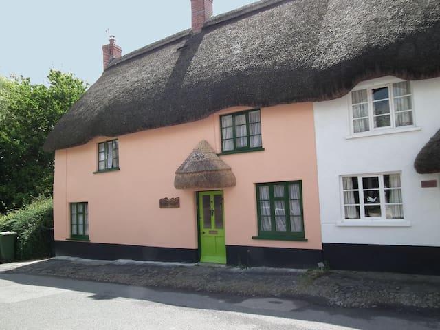 Fairytale thatched cottage & garden - Chulmleigh