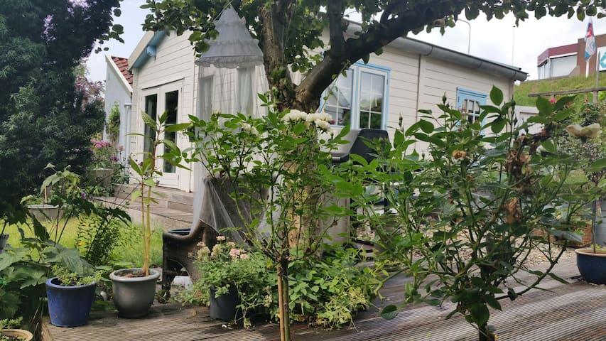 Very romantic cottage in the garden - Hendrik-Ido-Ambacht - Casa