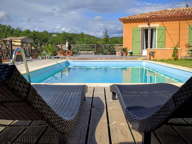 Lovely villa in the Luberon - Mirabeau - Casa