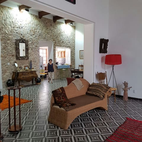 Lovely Colonial House - Campeche - Huis