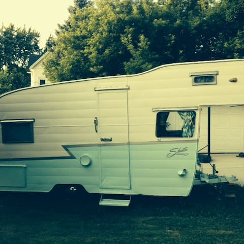 Vintage Shasta Trailer Delivered To Your Site - Waunakee