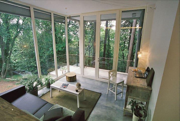 Exquisite accomodation in the woods - Brunate - Hus