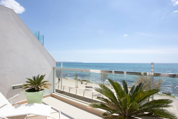 Top apartment design first line sea - 馬略卡島的帕爾馬 - 公寓