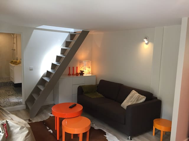 Studio duplex town center - 25mn of Paris - Verneuil-sur-Seine - Departamento