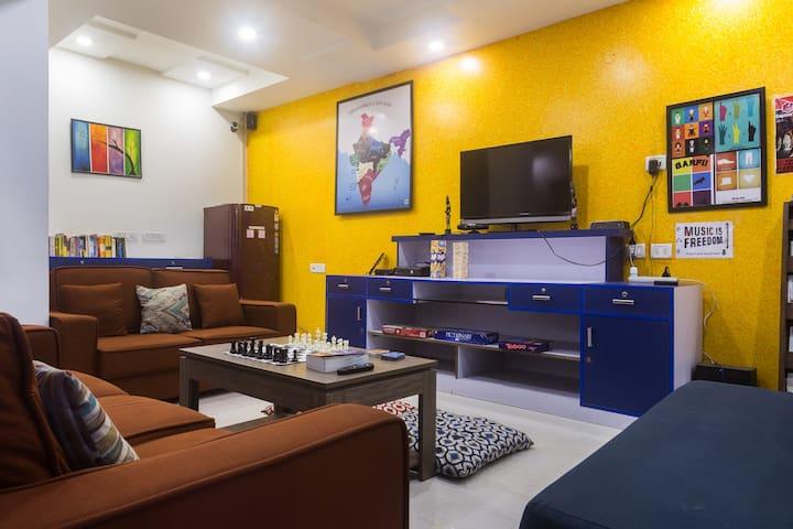 Stay in a true Delhi neighbourhood - Joey's Hostel - Nova Délhi