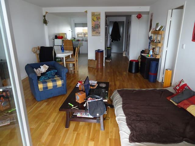 Spacieux T3  70 m2 proche centre ville - Nantes - Departamento