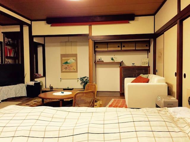 Traditional house. South of kyoto - Jōyō-shi