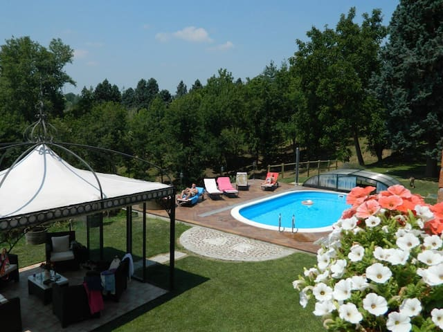 Luxury Country Property Monferrato Villa Carlotta - Viarigi - Villa