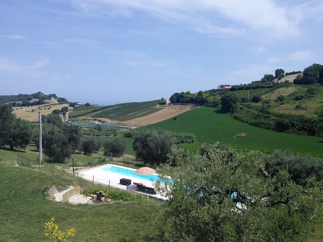 Altidona Country Apartment with pool and sea viewT - Altidona
