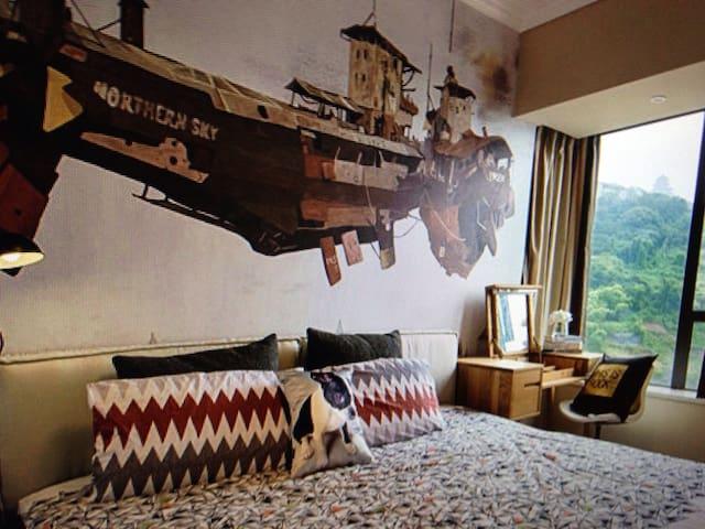 Mediterranean style - 鄧厝 - Appartement
