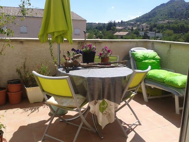 Appartement au soleil dans environnement agréable - Château-Arnoux-Saint-Auban - Appartement