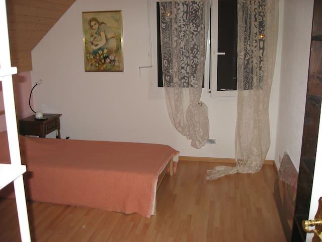Grande chambre à 5 minutes de la forêt - Froideville - 一軒家