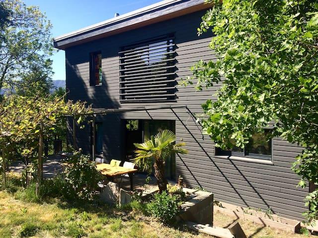 Maison en bois, écologique - Prades - Casa