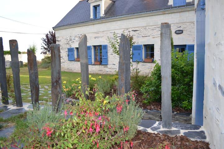 Charmant Gîte des Bords de Loire - La Daguenière - Huis