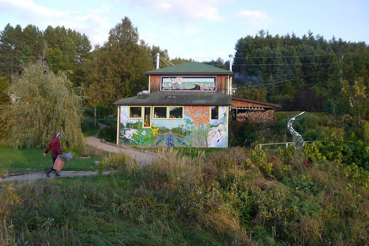A Cozy Wilno Garden Paradise - Wilno - Hus