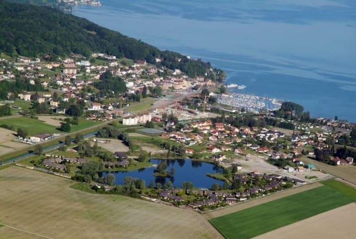 Bouveret, vue incroyable sur le Lac Léman - Port-Valais - Wohnung