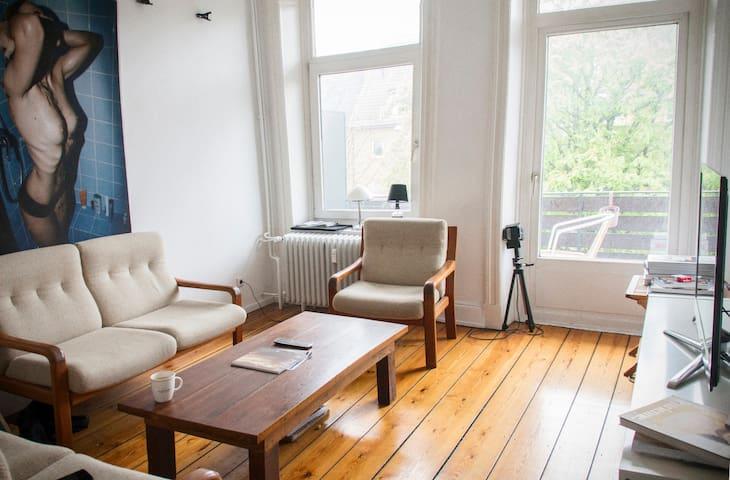 Zimmer einer WG im Herzen Hamburgs - Hambourg - Bed & Breakfast