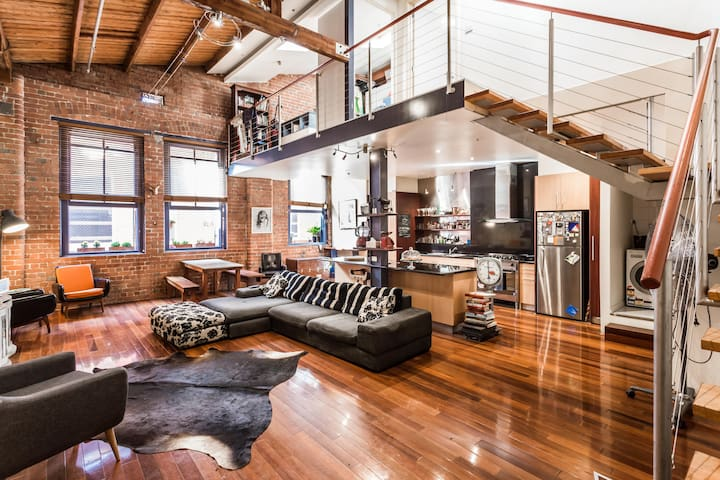 The Oxford - Warehouse Conversion Collingwood - Collingwood - Appartement