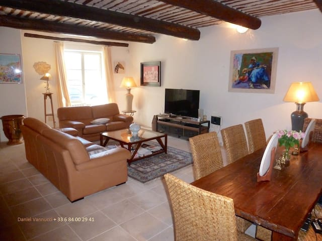 Authentic Village House in the heart of Provence - Murs - Huis