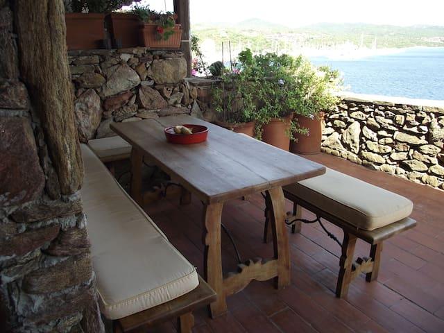 casa sul mare vista mozzafiato - Porto Rotondo - Leilighet
