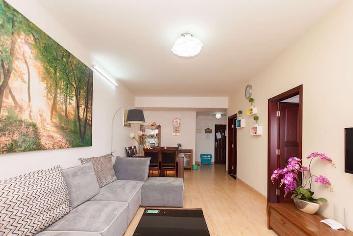 佐儿家民宿~离海近的两室一厅公寓 - Haikou Shi - Apartamento