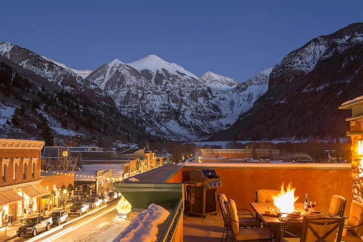 """""""The RoofTop"""" Penthouse - Telluride"""