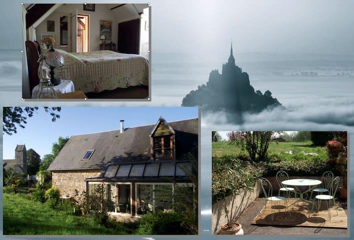 Gîte de Charme - Mont Saint-Michel - Dragey-Ronthon - Hus