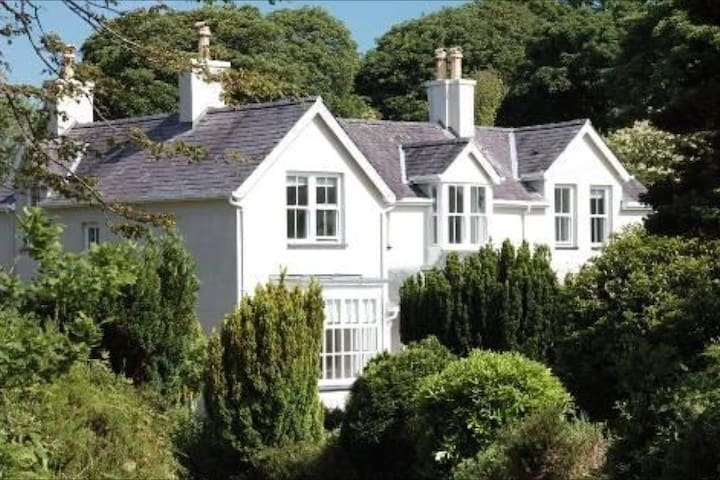 Twin with Snowdonia View: Parc B&B - Dinas, Caernarfon - Bed & Breakfast