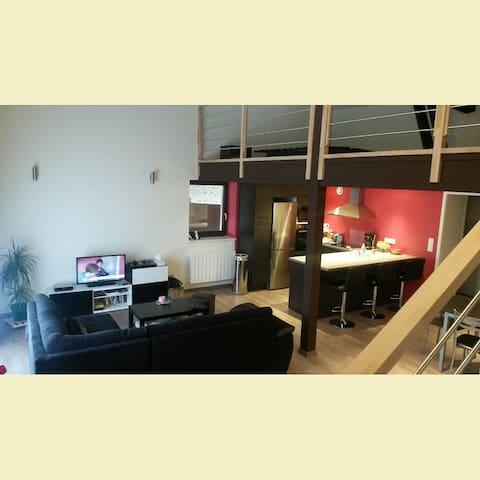 Maison de 80m2, au calme, 30km Lyon - Thurins - Casa