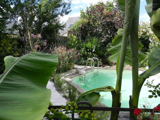 Gites 8 pers piscine près de Nantes - Sucé-sur-Erdre - Lägenhet