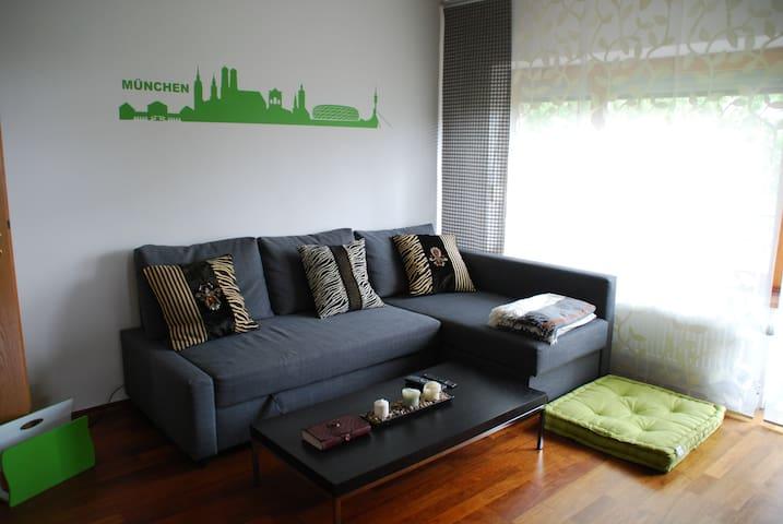 Ruhige 3-Zimmer Wohnung München Ost - Haar - Huoneisto