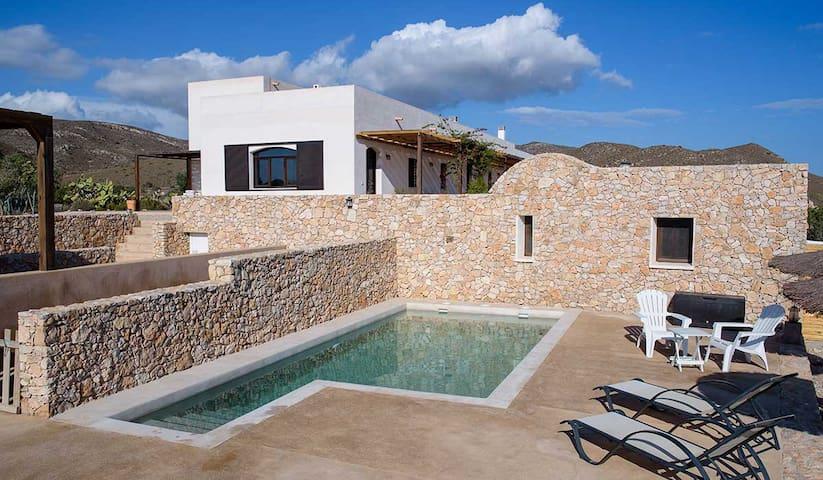 EcoHouse Cabo de Gata 15min beaches - Fernán Pérez - Loteng Studio