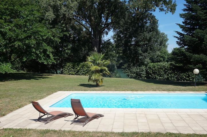 Petit coin de paradis proche Lyon - Chavanoz