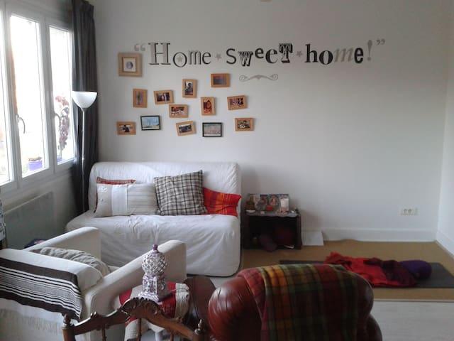 Appartement calme, cosy et lumineux dans village - Tence - Apartemen
