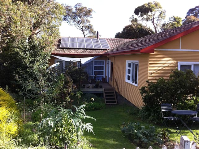 Double room w/ bush views, spa, sauna & grandpiano - Welby