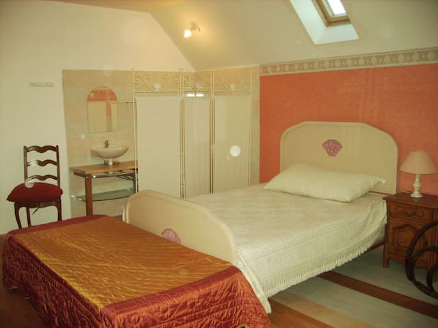 Chambre chez particulier - Chagny - Huis