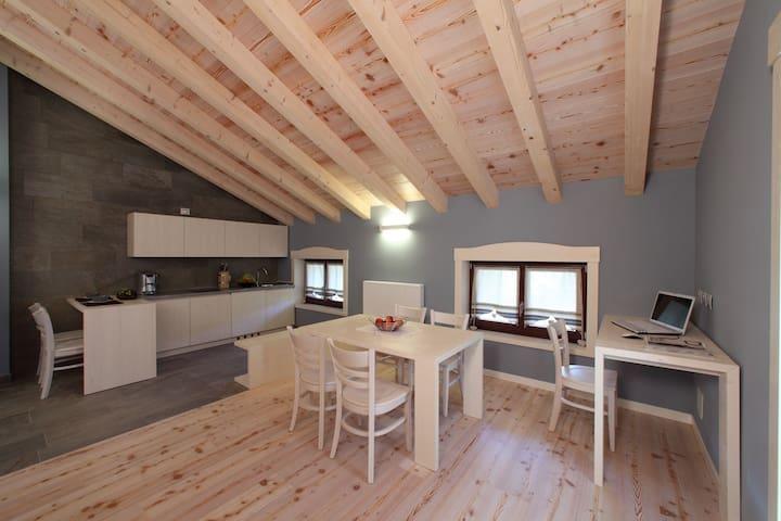Modern House in an ancient village - Rivo - Leilighet