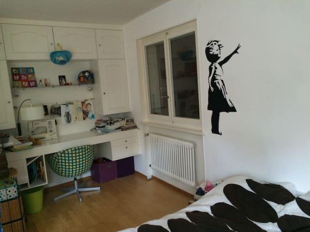 Chambre privée dans appart - Chexbres - Leilighet