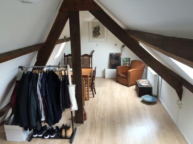 Very bright and cozy studio apartment - Amsterdam - Leilighet